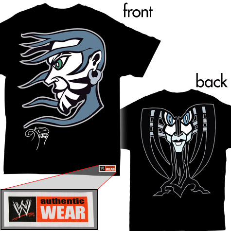 Entrevista a Jeff Hardy Tshirt-front-back