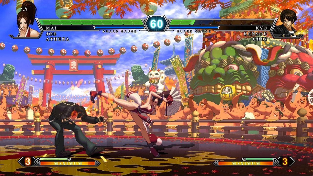 The king of fighters 95: screenshots
