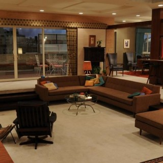 Don Draper's apartment from Mad Men