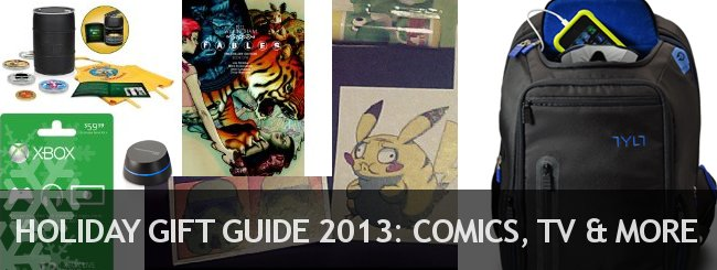Holiday Gift Guide 2013 - Comics, TV, and More