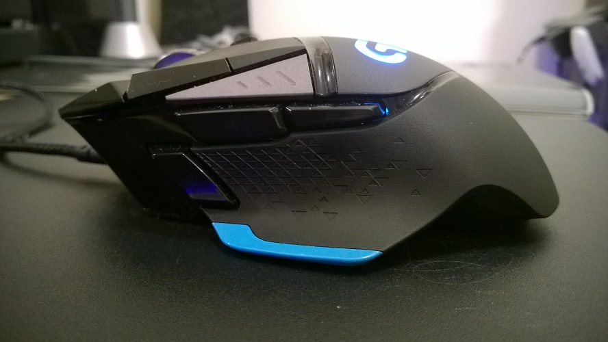 logitech g502 proteus core how to change color