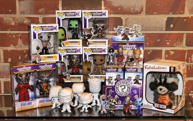 Guardians of the Galaxy Funko Prizes