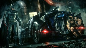 Batman & his ride