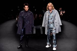 Zoolander 2 Stars invade the runway in Paris