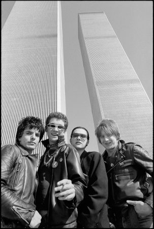 The Damned in New York City, 1977. (PHOTO: Roberta Bayley)