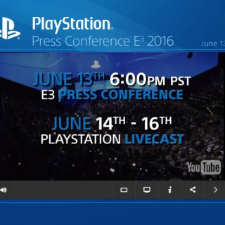 E3 2016 Sony Playstation Press Conference