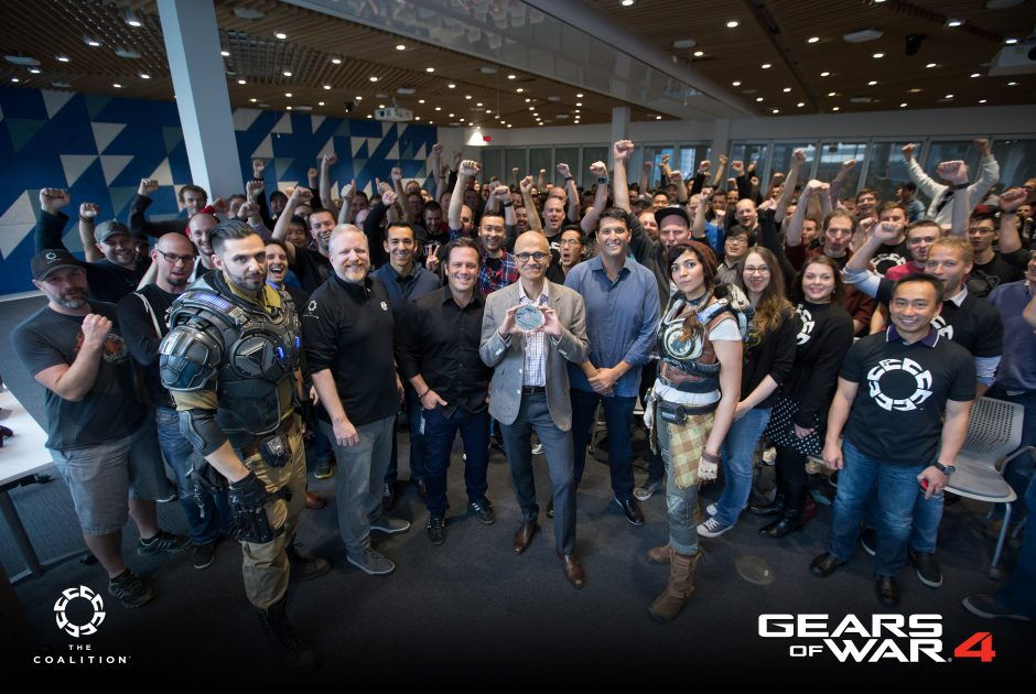 "Gears of War 4 ""Goes Gold"""