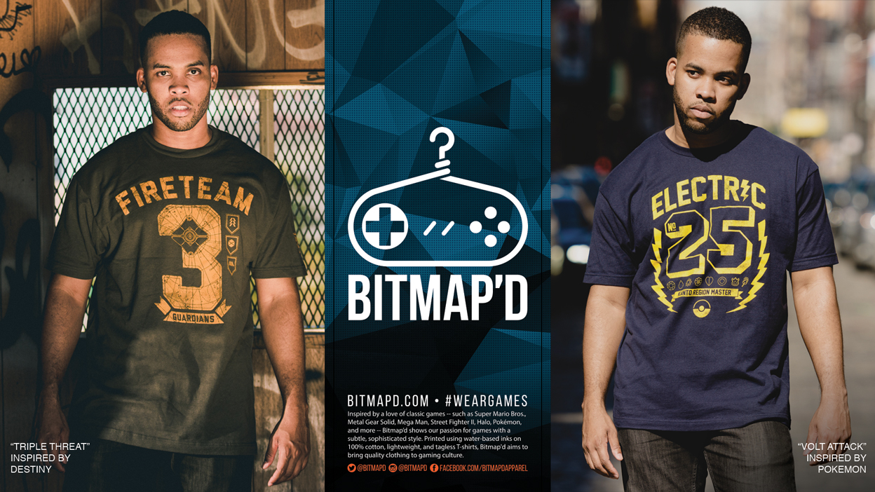 RFMag Holiday Gift Guide 2016: Bitmap'd Tees