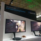 PAX East 2017: Samsung Quantum Dot Curved Gaming Monitor