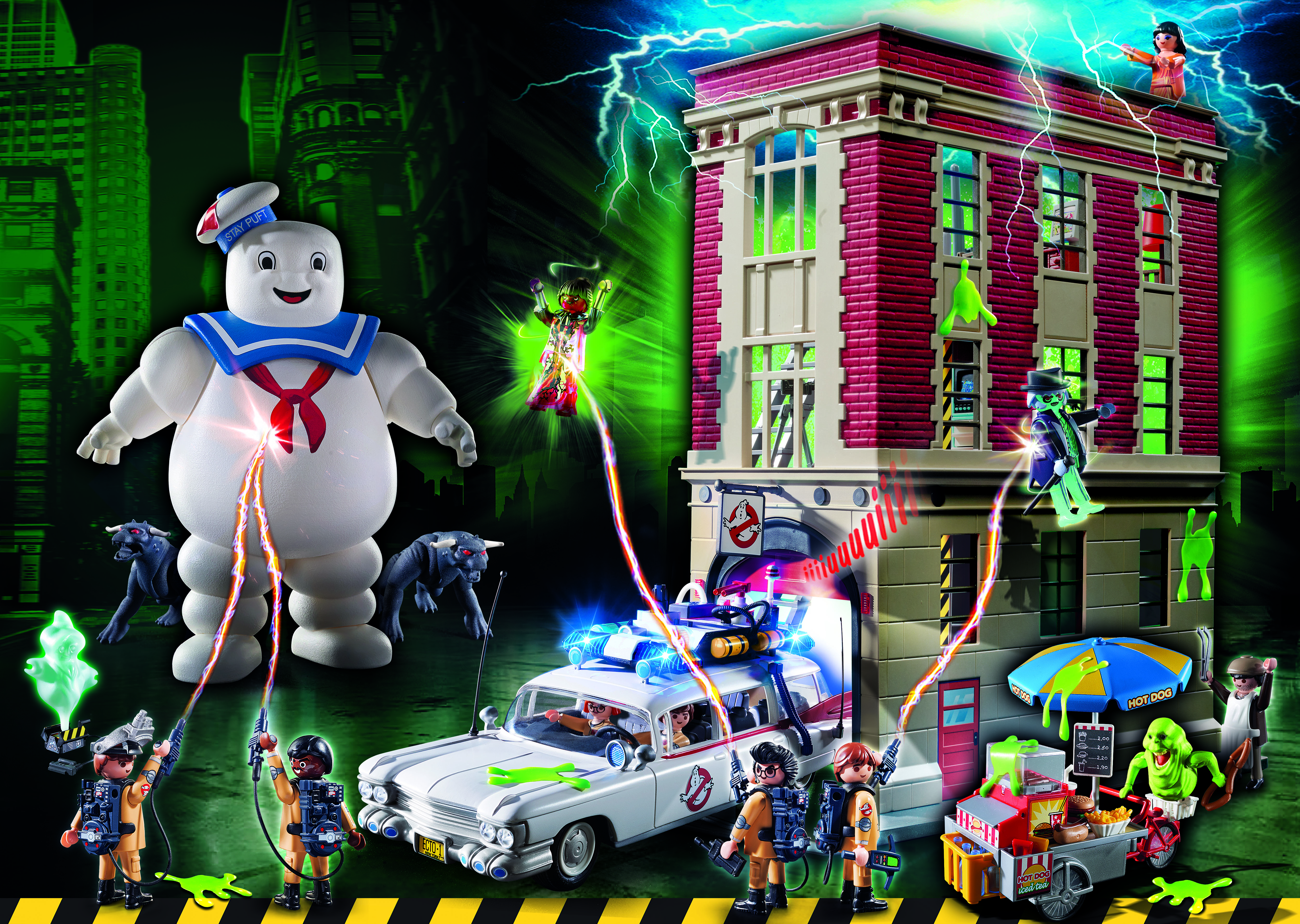 PLAYMOBIL Ghostbusters Playsets