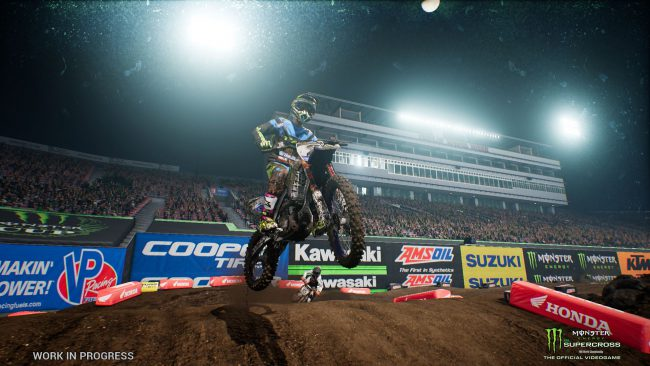 """Monster Energy Supercross - The Official Videogame"" Announced"