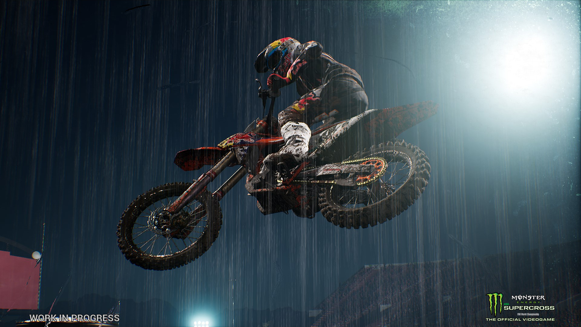 monster energy supercross the official videogame announced. Black Bedroom Furniture Sets. Home Design Ideas