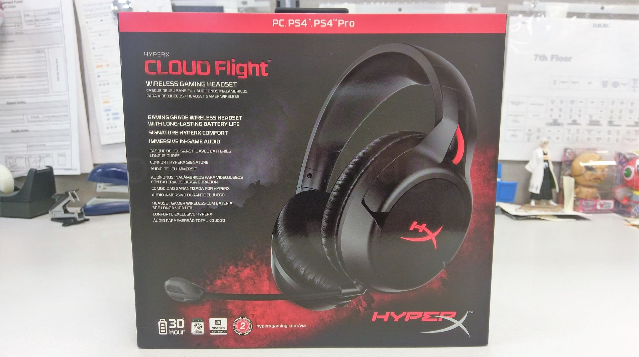 Ces 2018 Hyperx Cloud Flight Wireless Gaming Headset Review