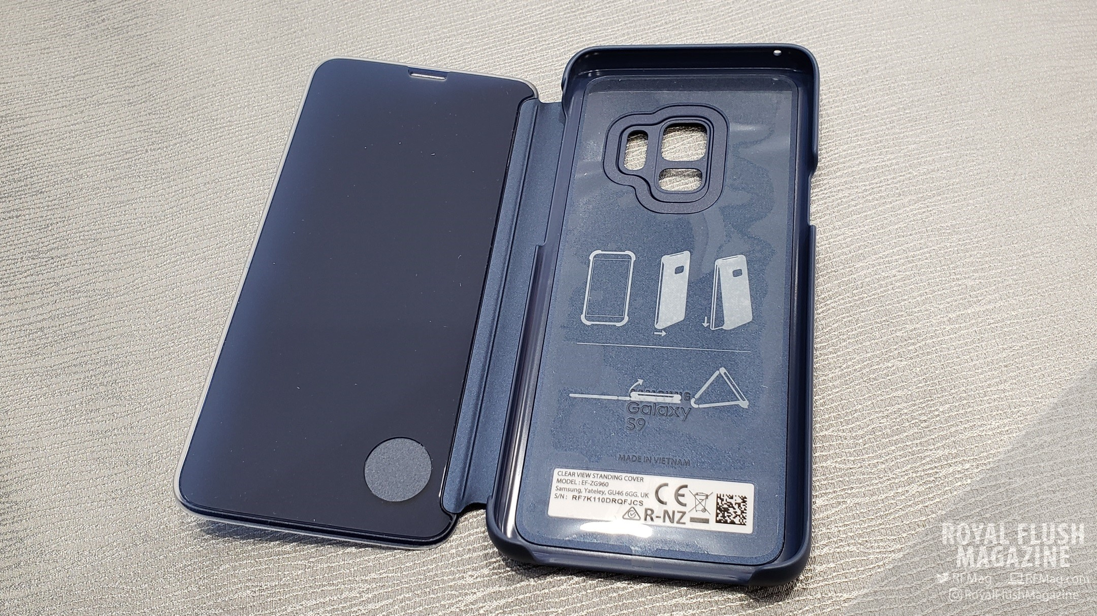 huge inventory 83328 e4a09 Samsung Galaxy S9 S-View Cover Review