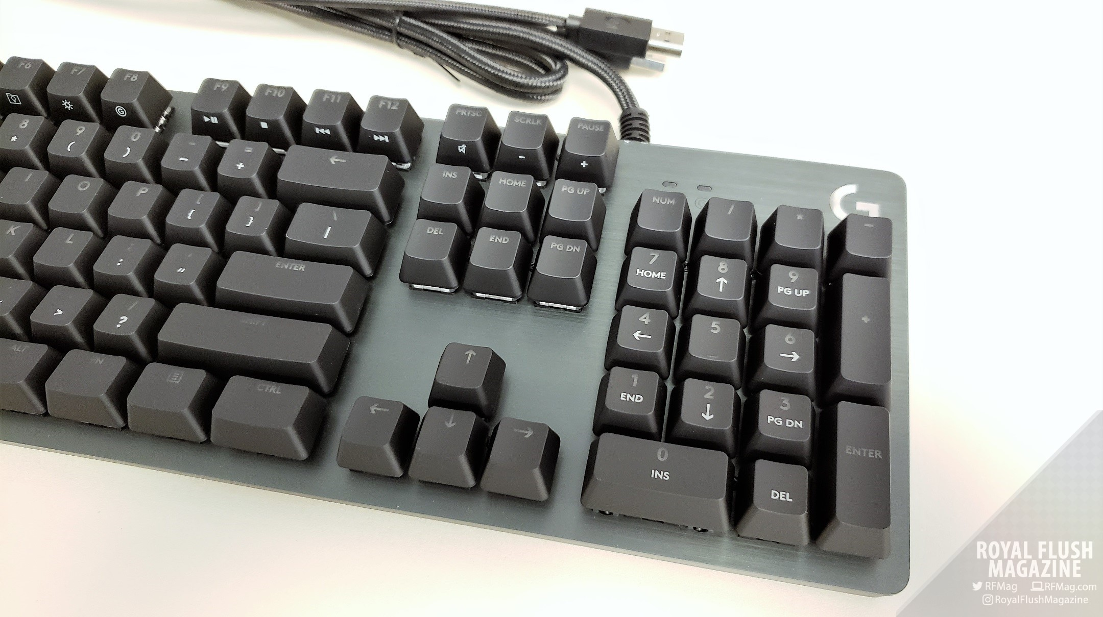 Logitech G512 Carbon Gaming Keyboard Review Rgb Mechanical Gx Blue From The Moment You Take It Out Of Box Youll Notice That Features A Sleek Aluminum Body What Are Feeling And Seeing Is An